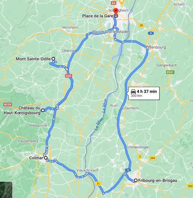Circuit Alsace-Allemagne